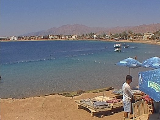 The Lighthouse Dahab, confined diving area