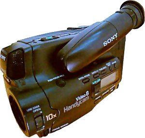 Sony Video8 camcorder